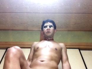 My anal  dildo  cock  cum shot
