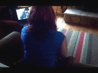 CD watching porn & wanking