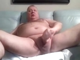 daddy stroke and cum on cam