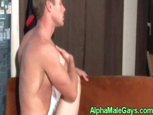 Gay stud duo fucking ass and cumming
