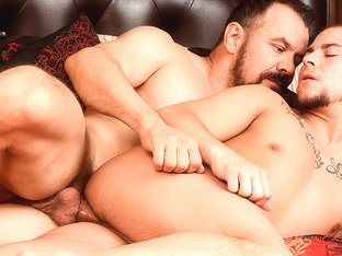 Eli Hunter & Max Sargent in The Straight Man Part 3 Scene