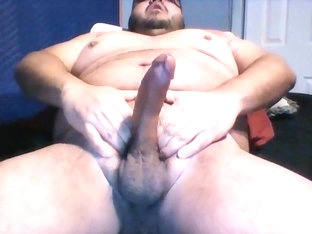 One of the first chub jerk off of 2016.Couldnt resist of my fatty fetishism.