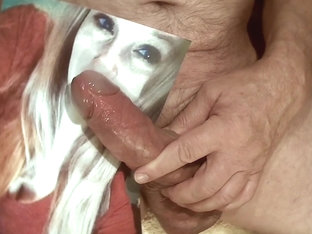 Tribute for - facial cum on her open mouth
