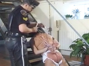 Slut Gets Loaded By Three Guys