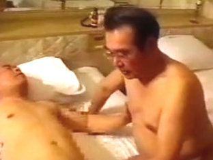 Crazy male in horny asian homo porn scene