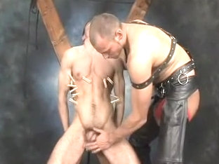 Fabulous male in amazing bdsm, hunks gay adult scene