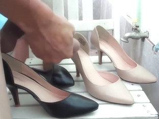Cumshot High Heel CUMSHOT HIGH HEEL SHOE W33 Cumshot Shoe