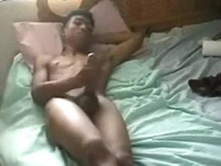 Horny male in amazing amature, black homo xxx scene