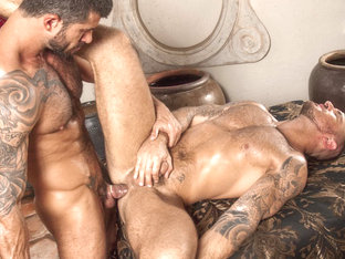 Francesco D'Macho & Adam Killian in Arab Heat, Scene #02