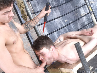 A Very Obedient Cock Sucker - Youri Chevalier & Jack Taylor - Boynapped