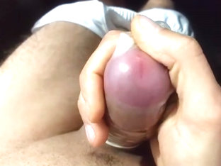 Condom close-up cum