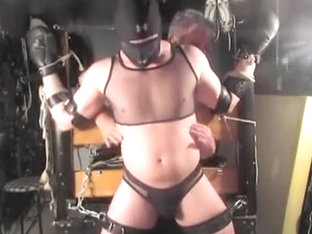 Str8 NYC tickle slave - Sept 2017