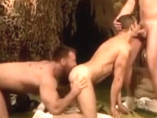 Dean Monroe, Aaron Cage, army threesome