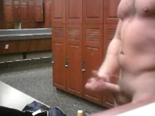 Hanging in the Locker room Naked