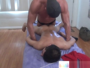 Huge dick massaging