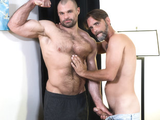 Joe Parker & Jaxx Thanatos in Big Muscle for Big Cock - PrideStudios
