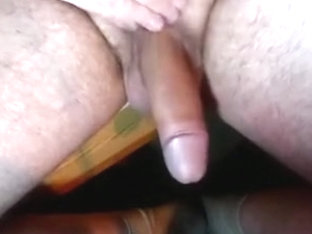 slomo soft uncut cock waggling + cumshot