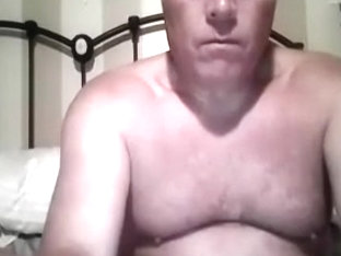Dishy homosexual is playing in a small room and memorializing himself on web cam