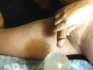 090921 Piddle Fucking my Fleshlight Toy