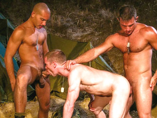 Antonio Biaggi & Billy Berlin & Aaron Summers & Trey Casteel in Grunts Brothers In Arms, Scene #05