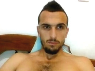 Greek Handsome Boy With Nice Big Cock On Webcam