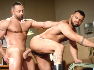 Fabio Stallone & Tony Orion in San Francisco Meat Packers - Part 1 Video
