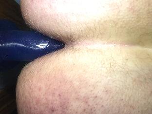 Taking all 11 inch dildo