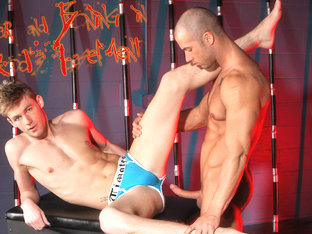 Rod Daily & Justin Chase in Fear and Boning in Rod's Basement XXX Video