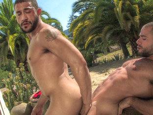 Tony Aziz & David Dirdam in Arab Heat, Scene #05