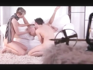 twink indoors threesome