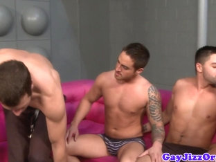 Underwear hunks assfucking before facial cumshot