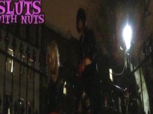 Slut with nuts