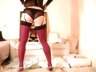 CD in lingerie solo