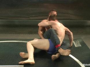 NakedKombat Will The Punisher Parks vs John Jizz on Your Face Jammen