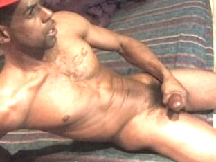 Exotic male pornstar in horny solo male, black homosexual porn video