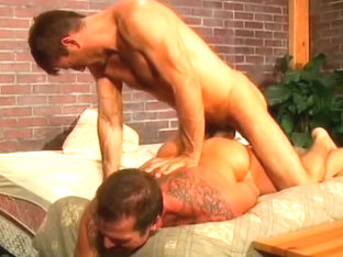 Fabulous amateur gay scene with Couple, Bear scenes