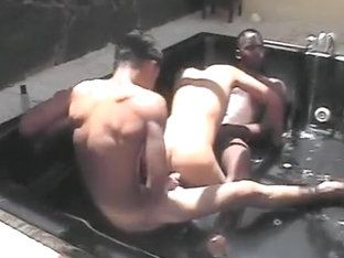3 some in pool