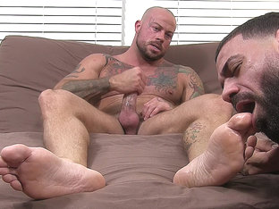 Sean Duran Gets Off On Ricky's Feet - Sean - MyFriendsFeet
